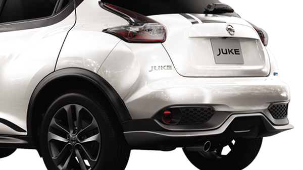 rear lower bumper juke revolt II 2016