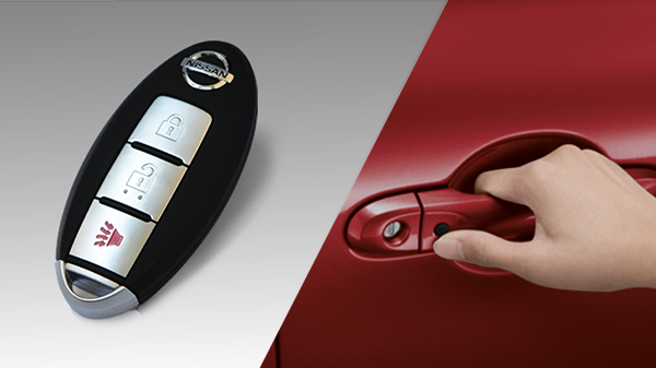 Nissan March smart key
