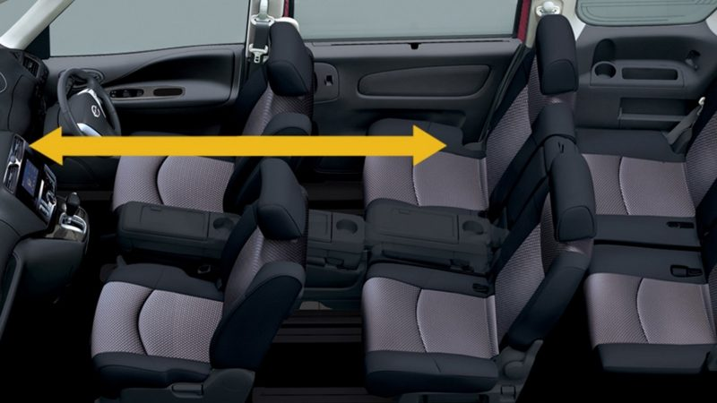 WALK RIGHT THROUGH Nissan Serena