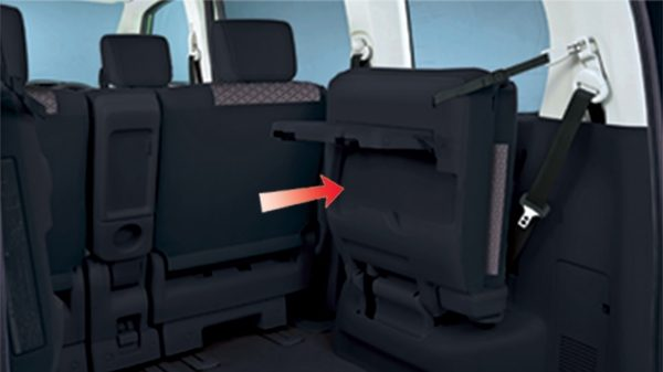 SMART-UP 3RD-ROW SEAT Nissan Serena