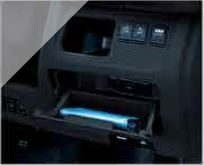 Driver's Seat Storage Compartment