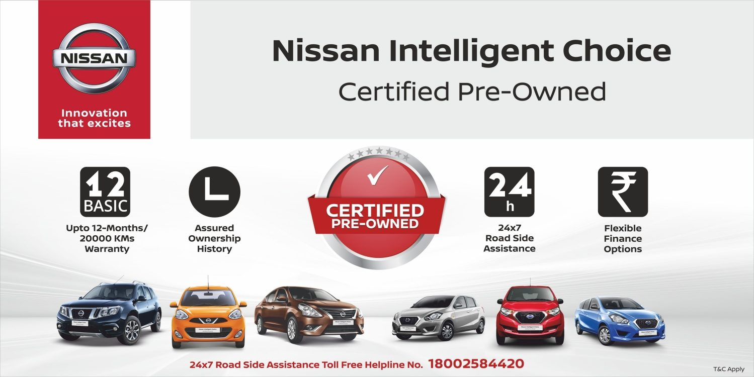 Nissan Certified Used Cars India
