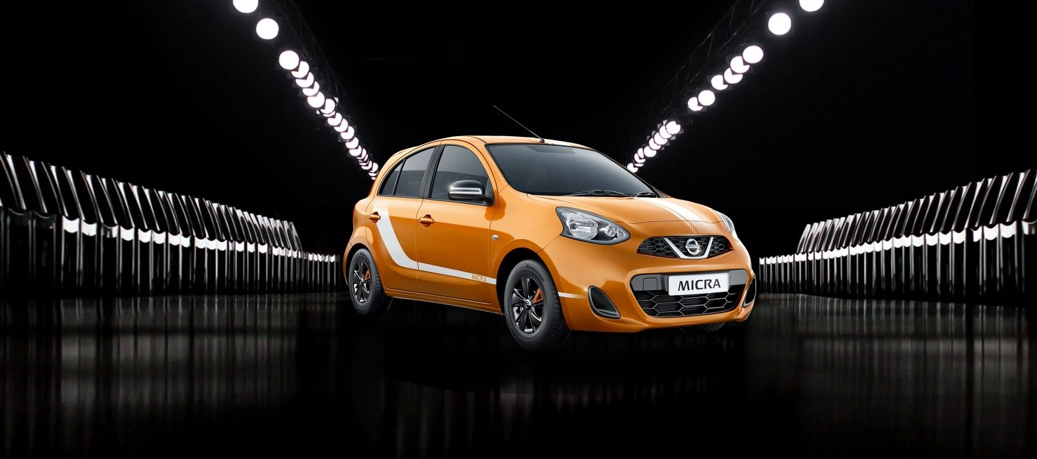Nissan Micra Fashion - Orange