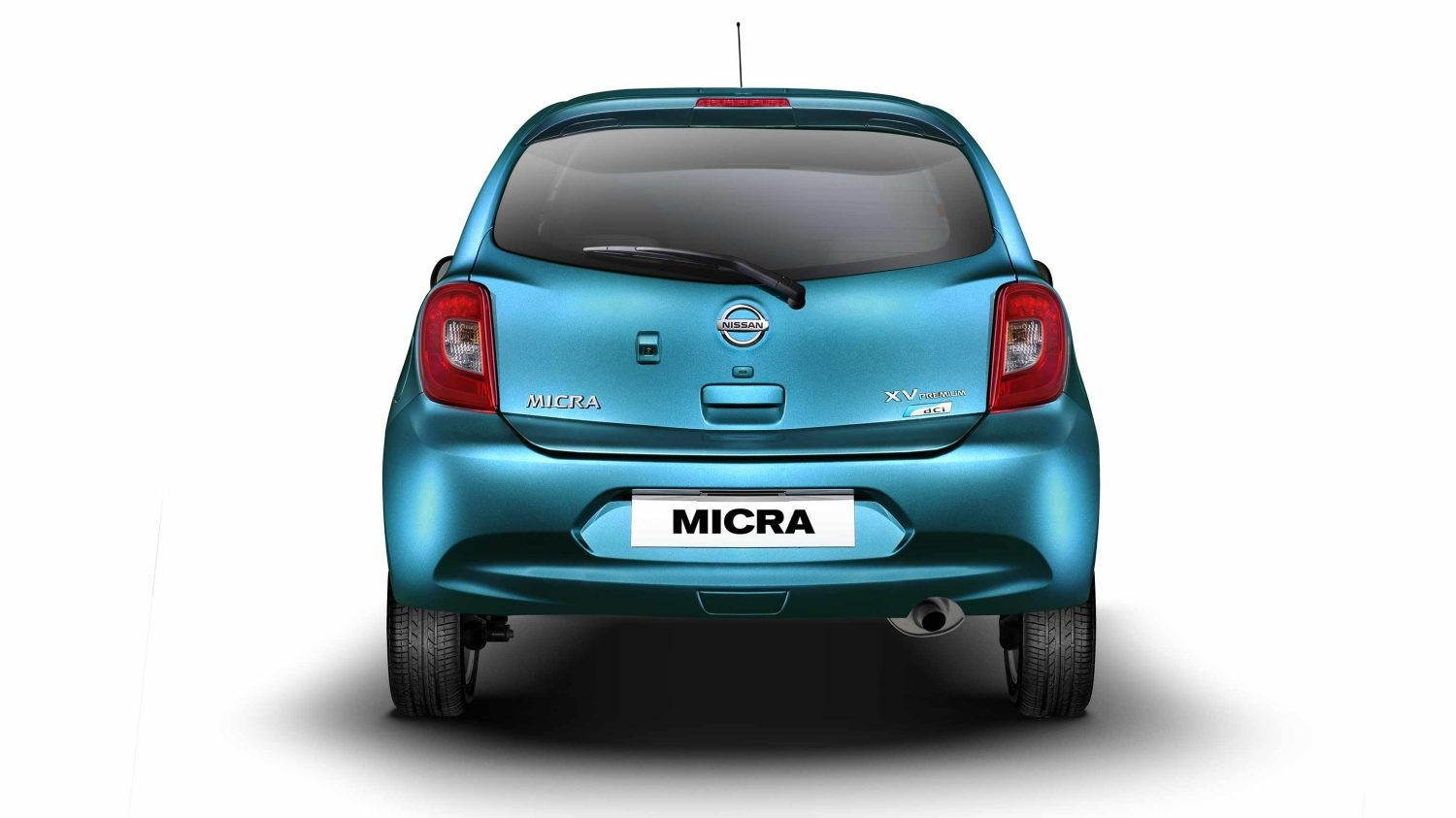 Nissan Micra Turquoise Blue