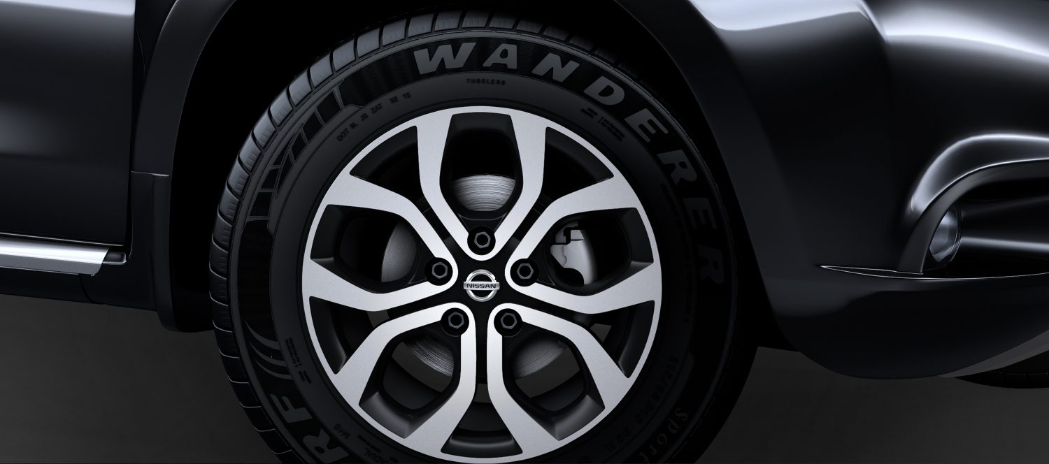 R 16 MACHINED ALLOY WHEELS
