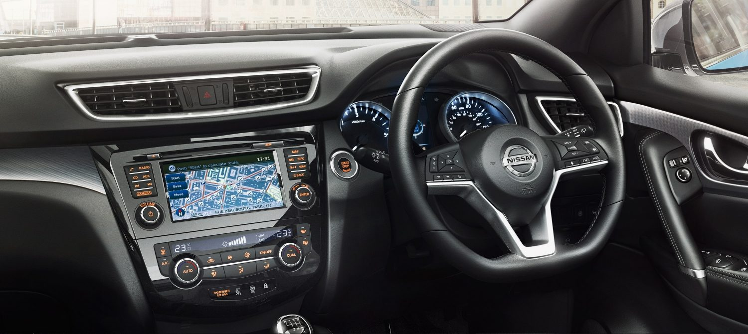 Features new nissan qashqai suv crossover nissan for Interior qashqai 2018