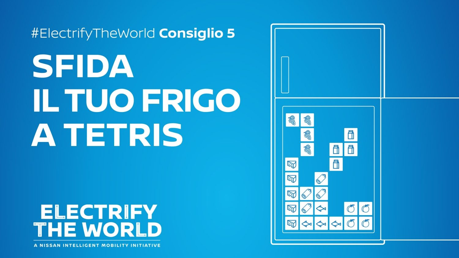 Electrify the World – Risparmio con il frigo