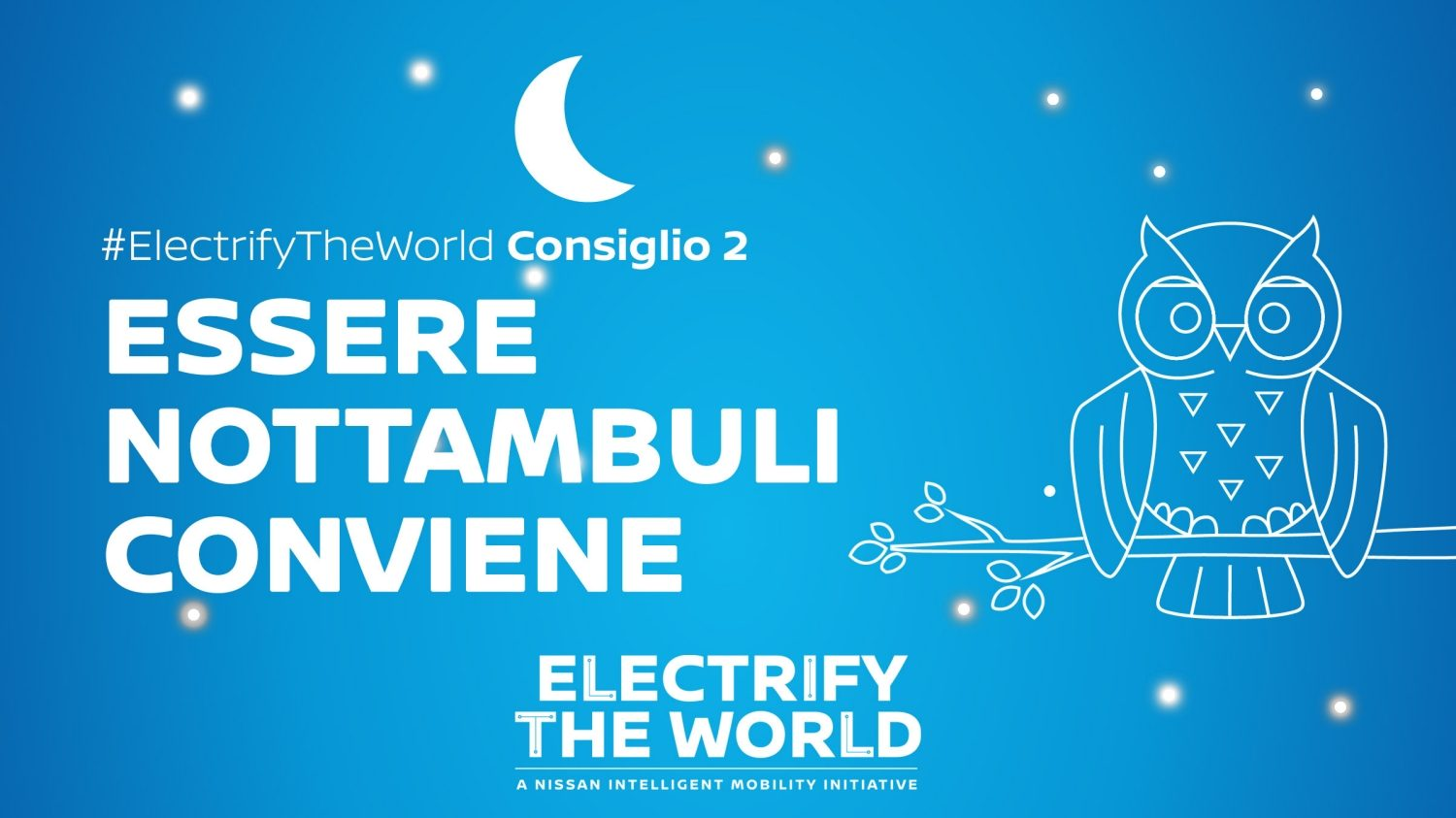 Electrify the World – Tariffe notturne