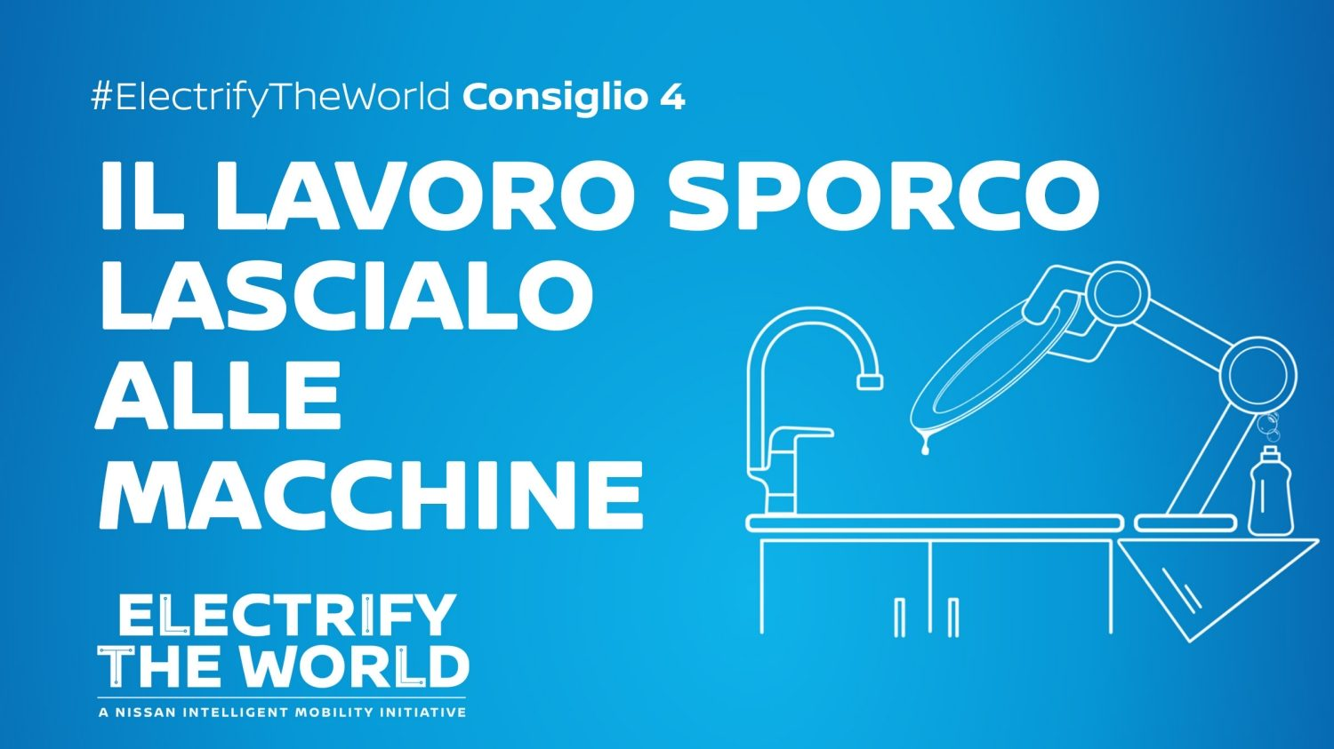 Electrify the World – Risparmio con la lavastoviglie