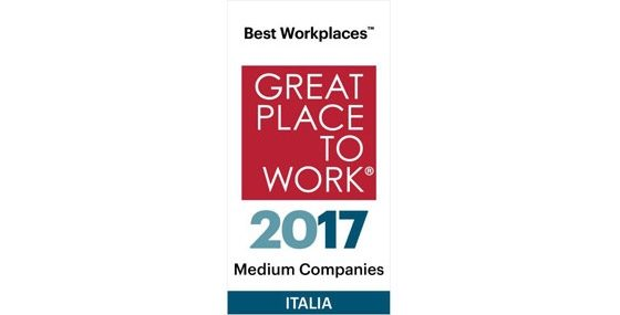 "Nissan Italia ""Great Place to Work"" 2017"