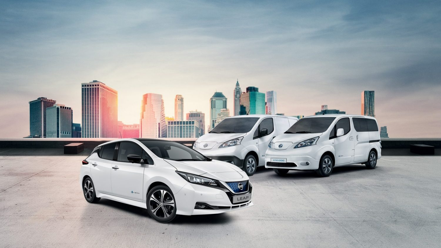 NISSAN ELECTRIC CAR RANGE