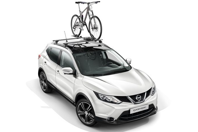 Nissan Qashqai - Transportation - Portabici Luxury in alluminio