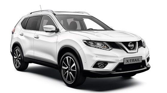 Nissan x trail offerte suv 7 posti nissan for Nissan offerte speciali