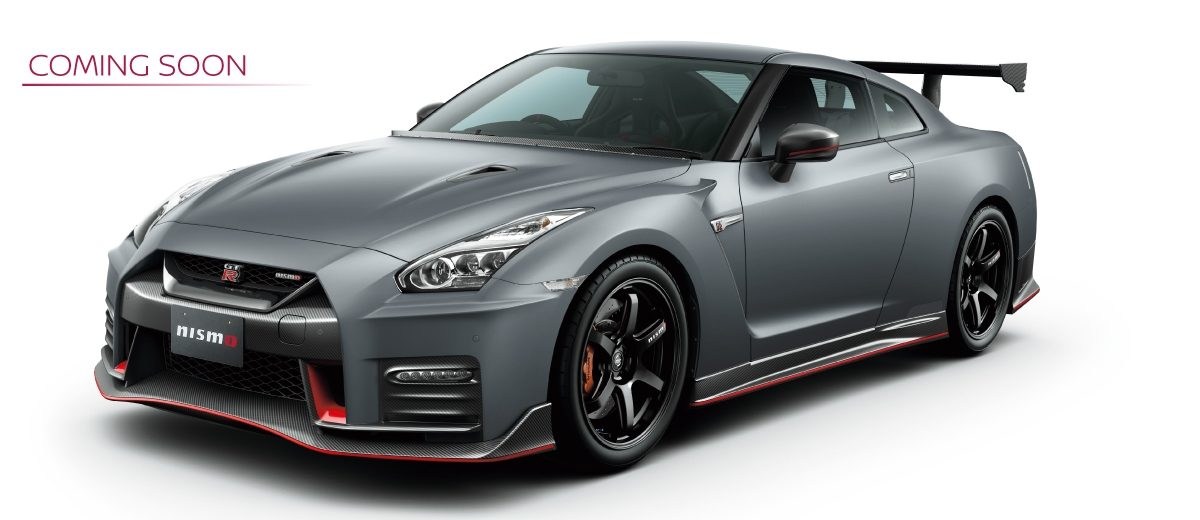 GT-R NISMO Nismo N Attack Package A kit装着車。 COMING SOON