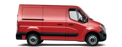 Van | Nissan NV400 | Electric van exterior