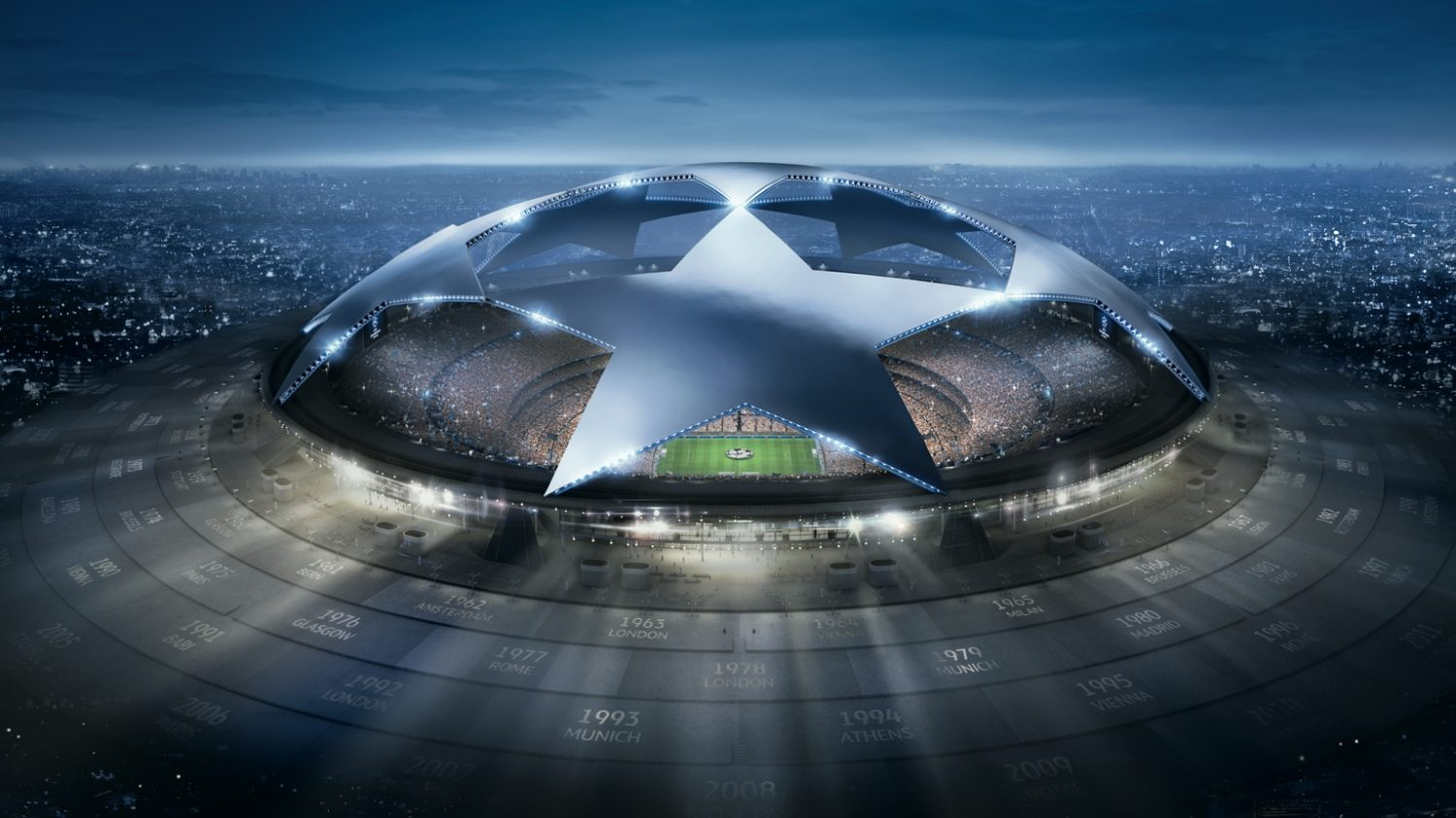 UEFA champions league stadium