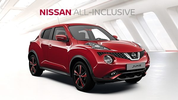 Nissan JUKE ALL-Inclusive financiering