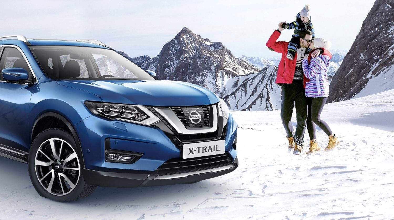 Campagne d'hiver Nissan