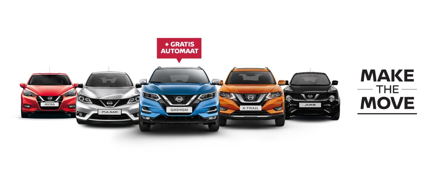 Nissan Make the Move actie