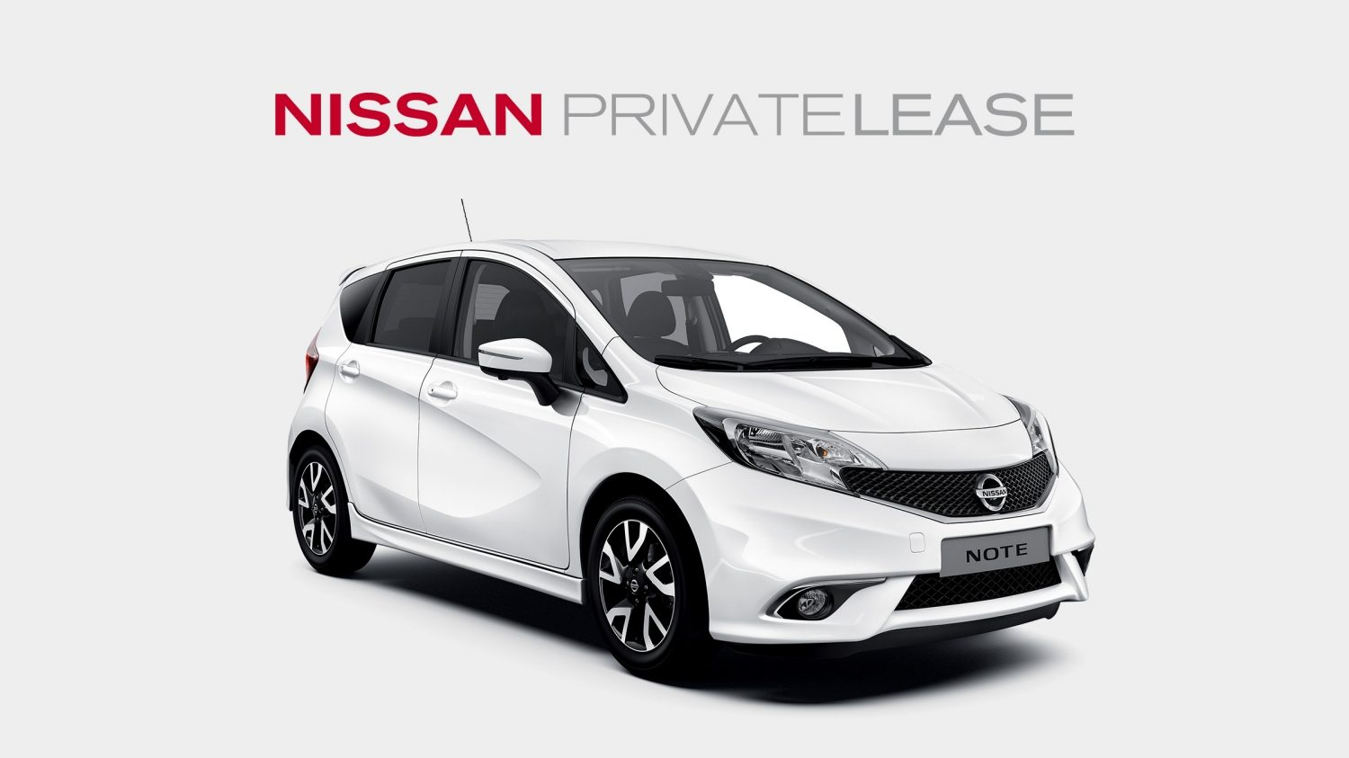 Nissan Private Lease Deal - NOTE