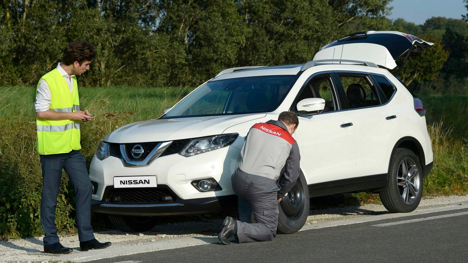 Nissan roadside assistance