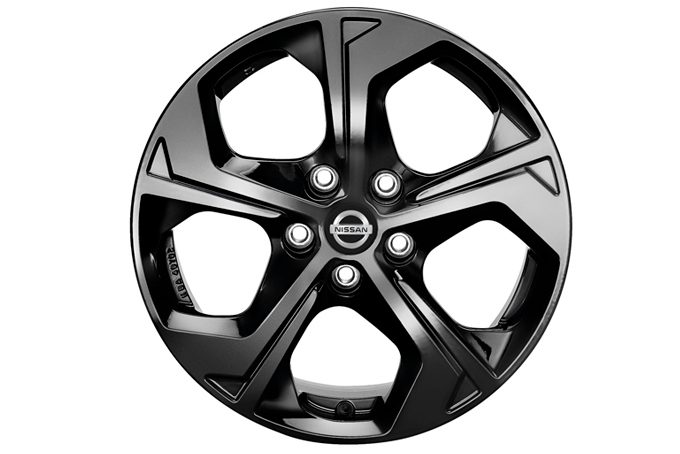 "Nissan X-Trail - Alloy wheels - 19"" wind alloy wheel black"