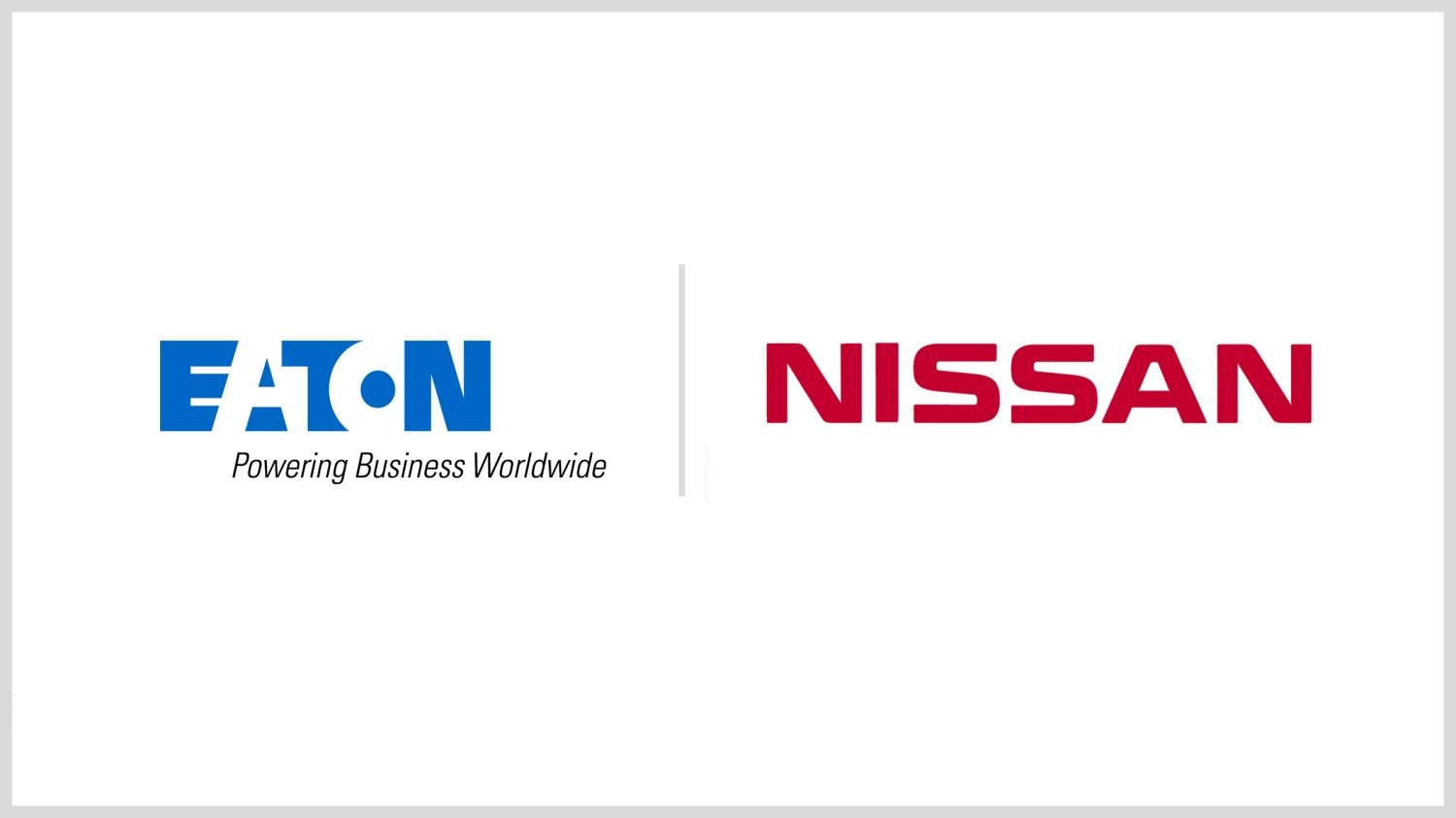 Eaton, Nissan collaboration