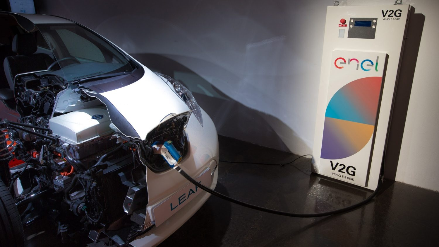 Nissan and Enel's Vehicle-to-Grid programme allows electric vehicles drivers to sell energy back to the grid, and will revolutionise the way we consume energy.