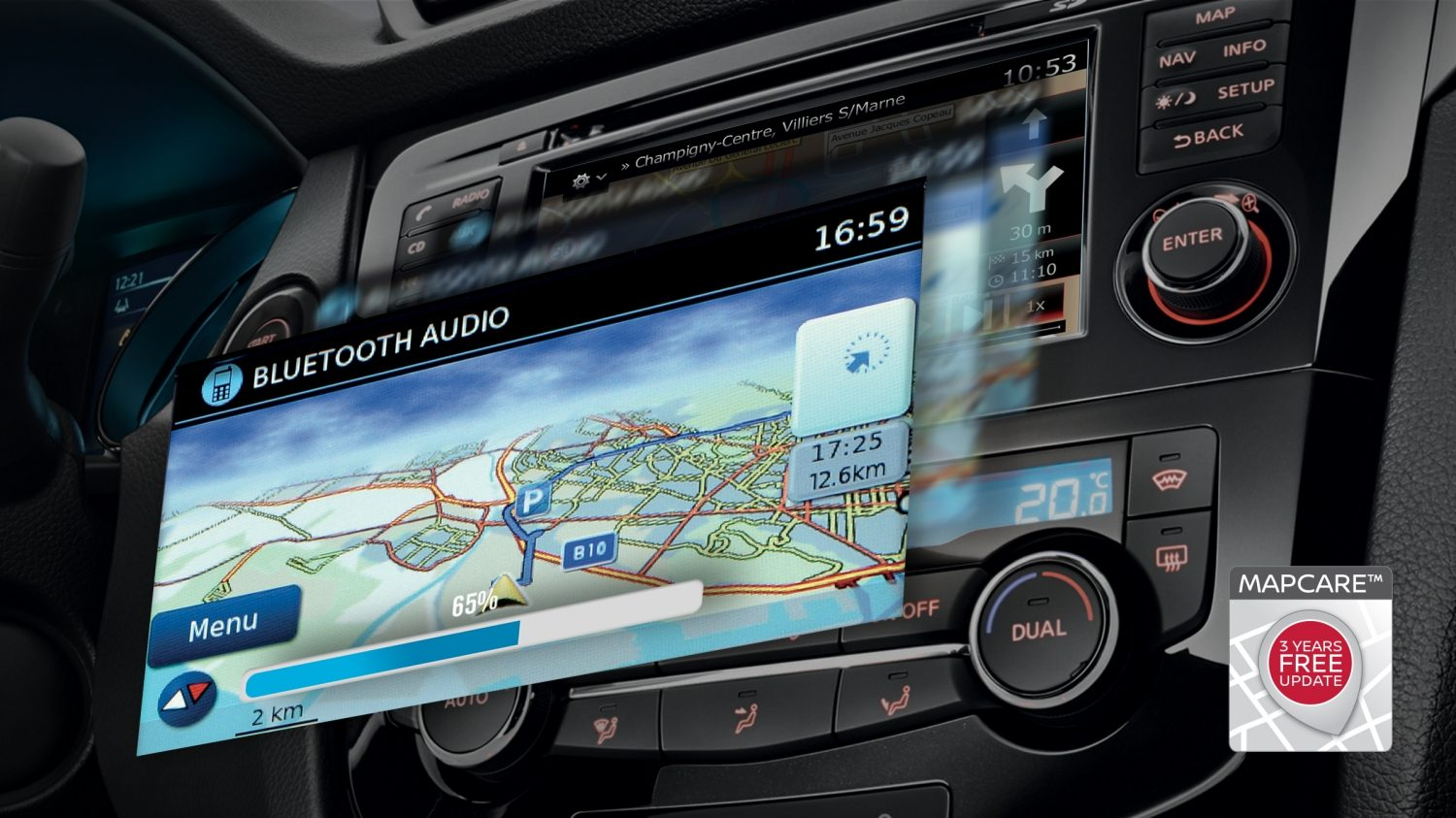 Nissan QASHQAI - NissanConnect mobile apps