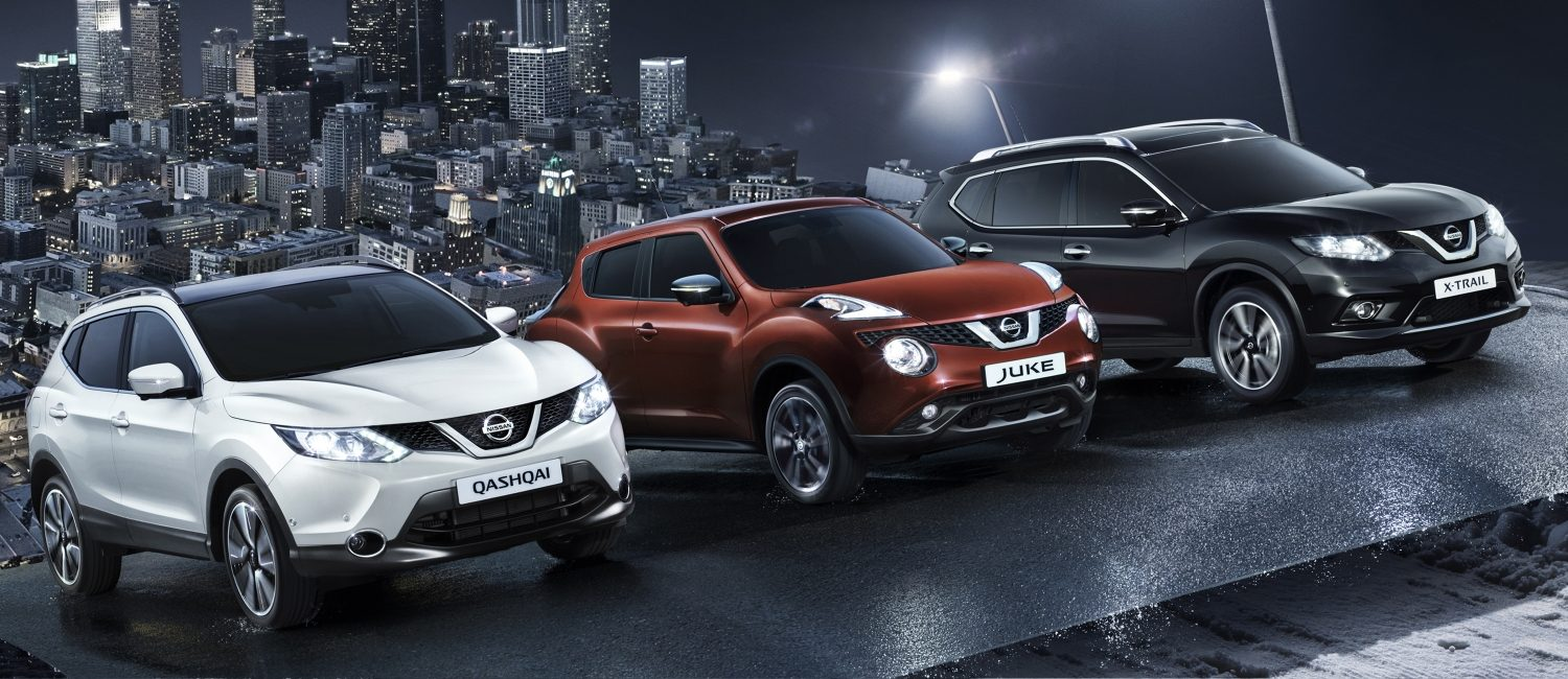 Nissan | Crossover range video demo