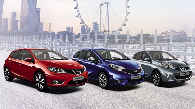 Nissan hatchback range