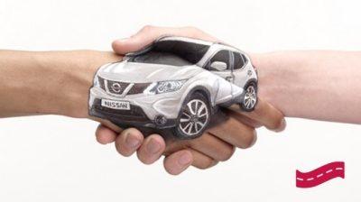 Nissan – Obietnica dla klientów – Bezpłatny samochód zastępczy