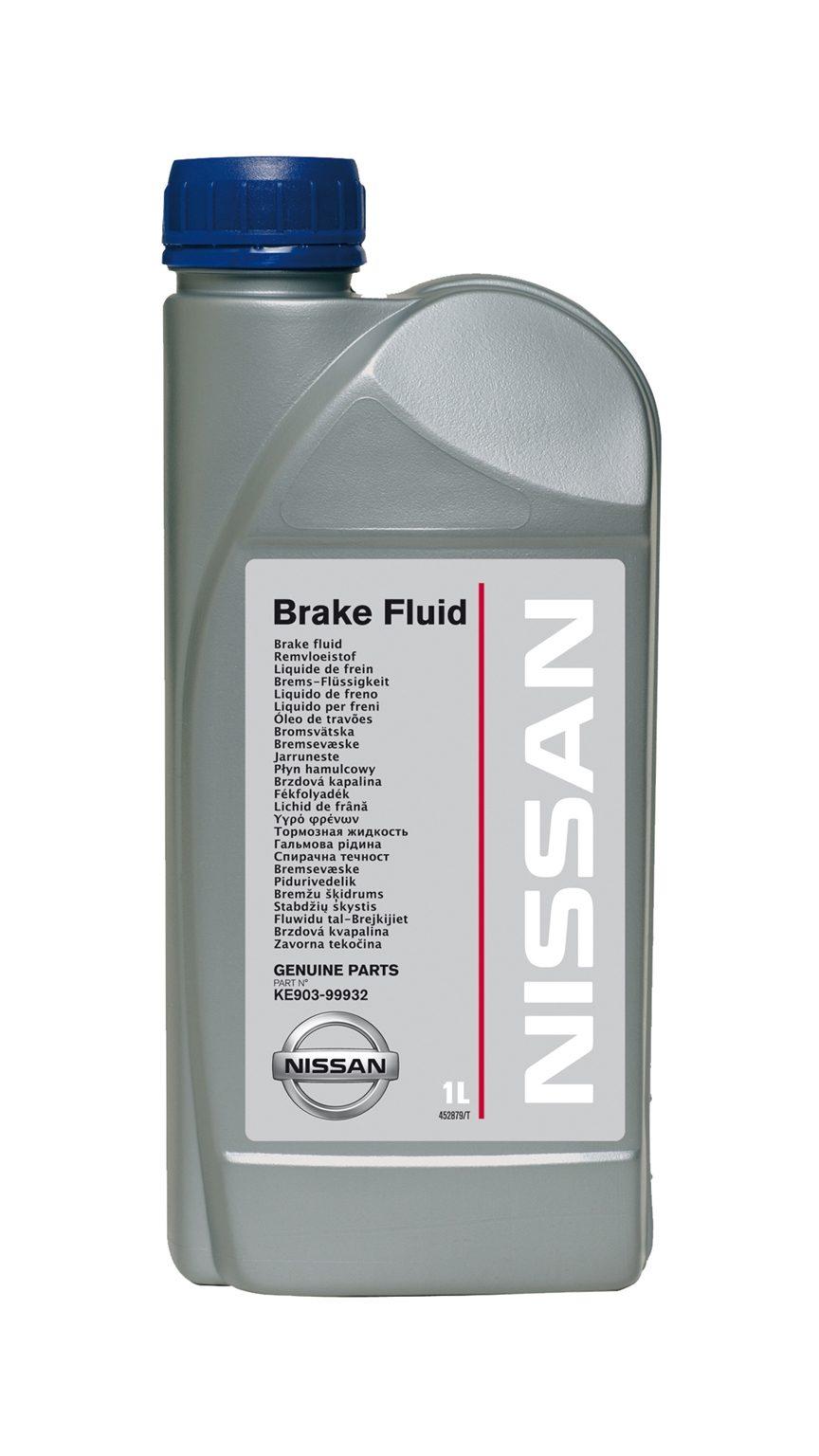 Nissan— тормозная жидкость