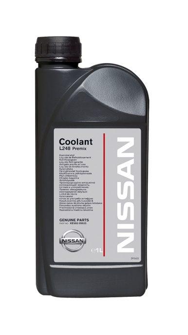 Nissan— охлаждающая жидкость