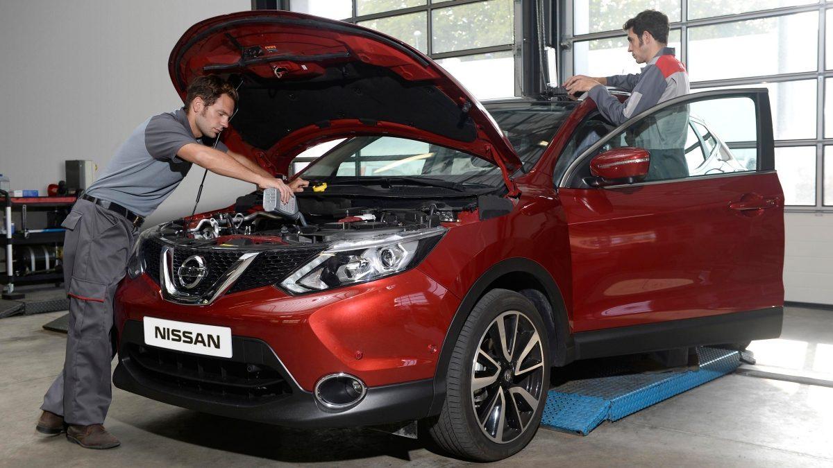 Nissan – Dla właściciela – Przeglądy i naprawy