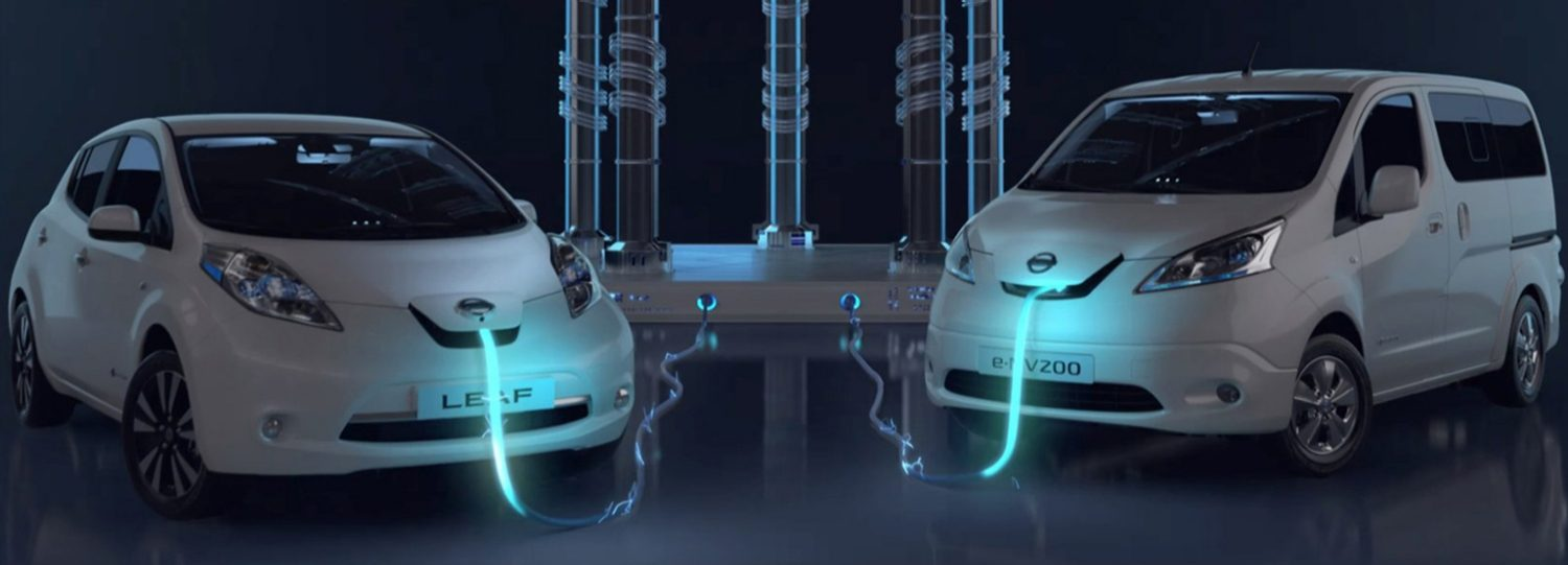 Nissan Electric vehicles range