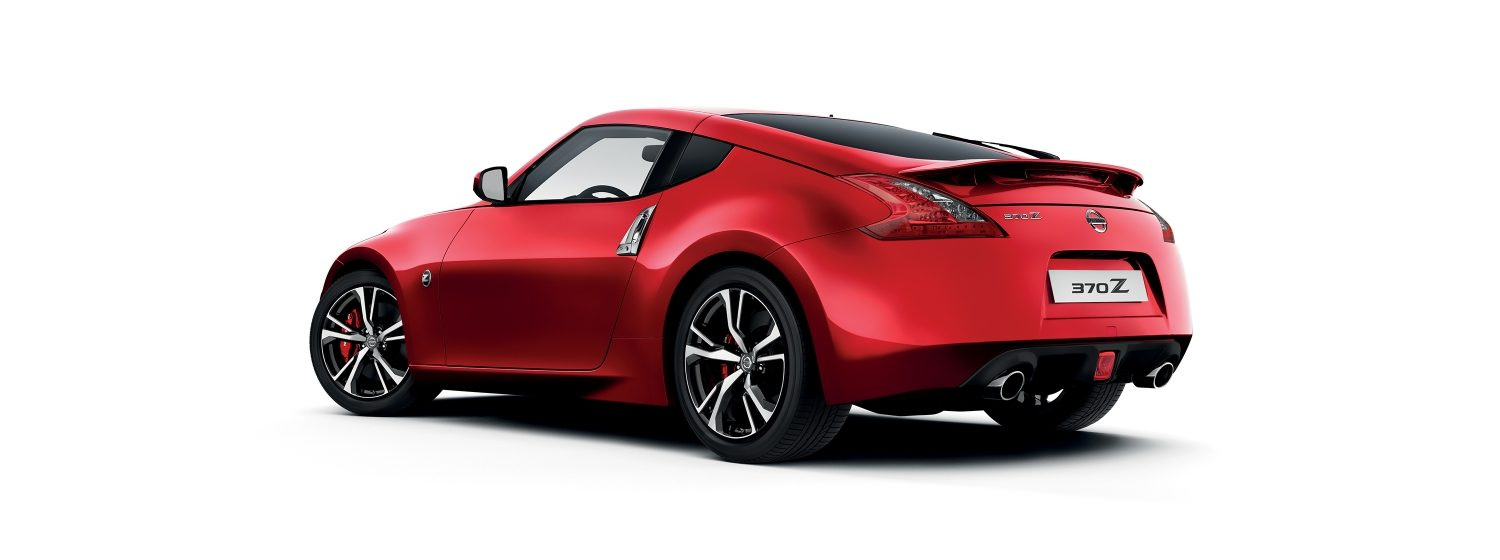 Nissan 370Z – Red 3/4 vy bak