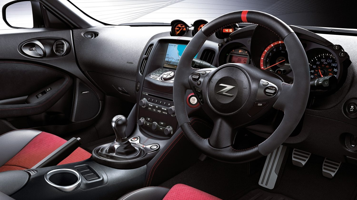 NISMO | Nissan 370Z | Sports car interior