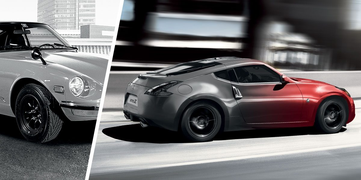 Nissan 370Z Coupe –