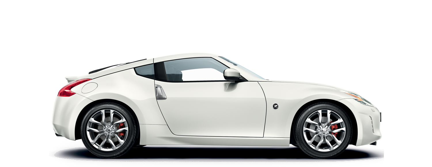 Nissan 370z Coupe - Side view