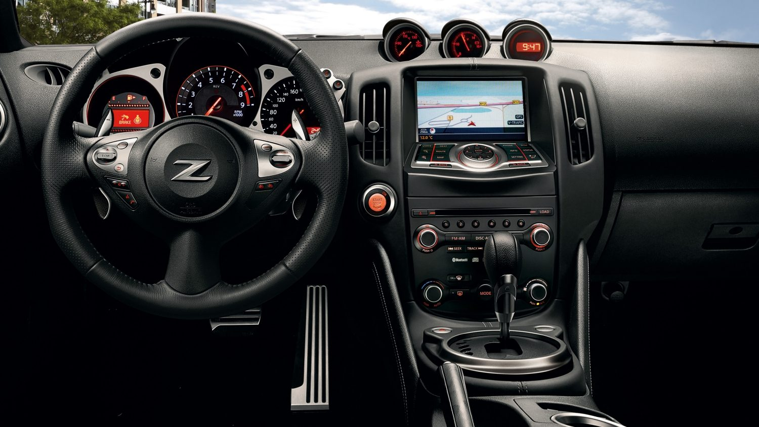 Nissan 370Z Roadster - Dashboarddetail