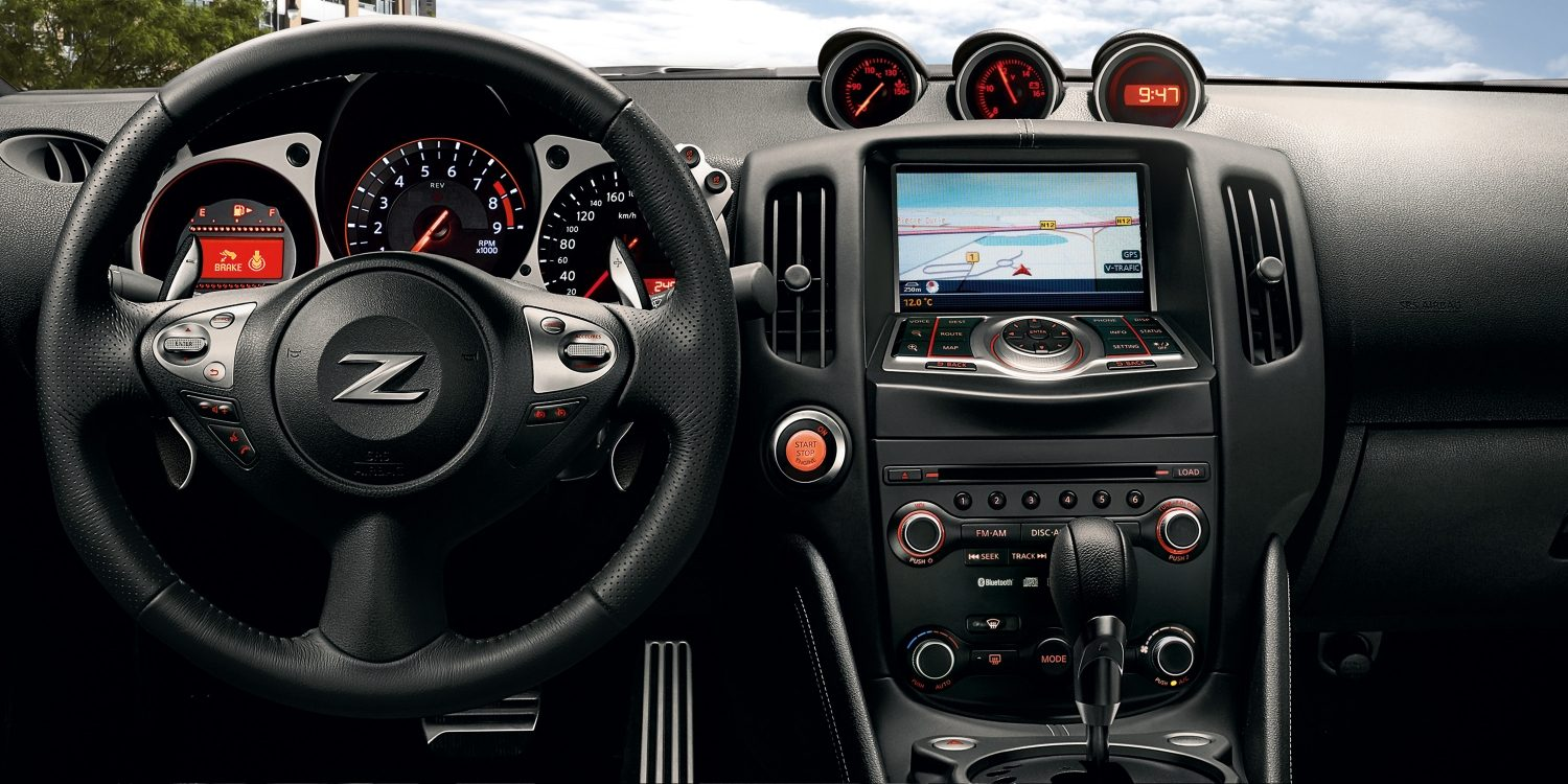 Nissan 370Z Roadster - Interieur dashboarddetail