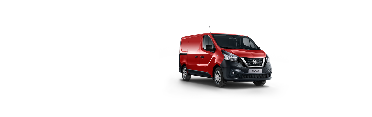 Nissan NV300 - MAGMA RED