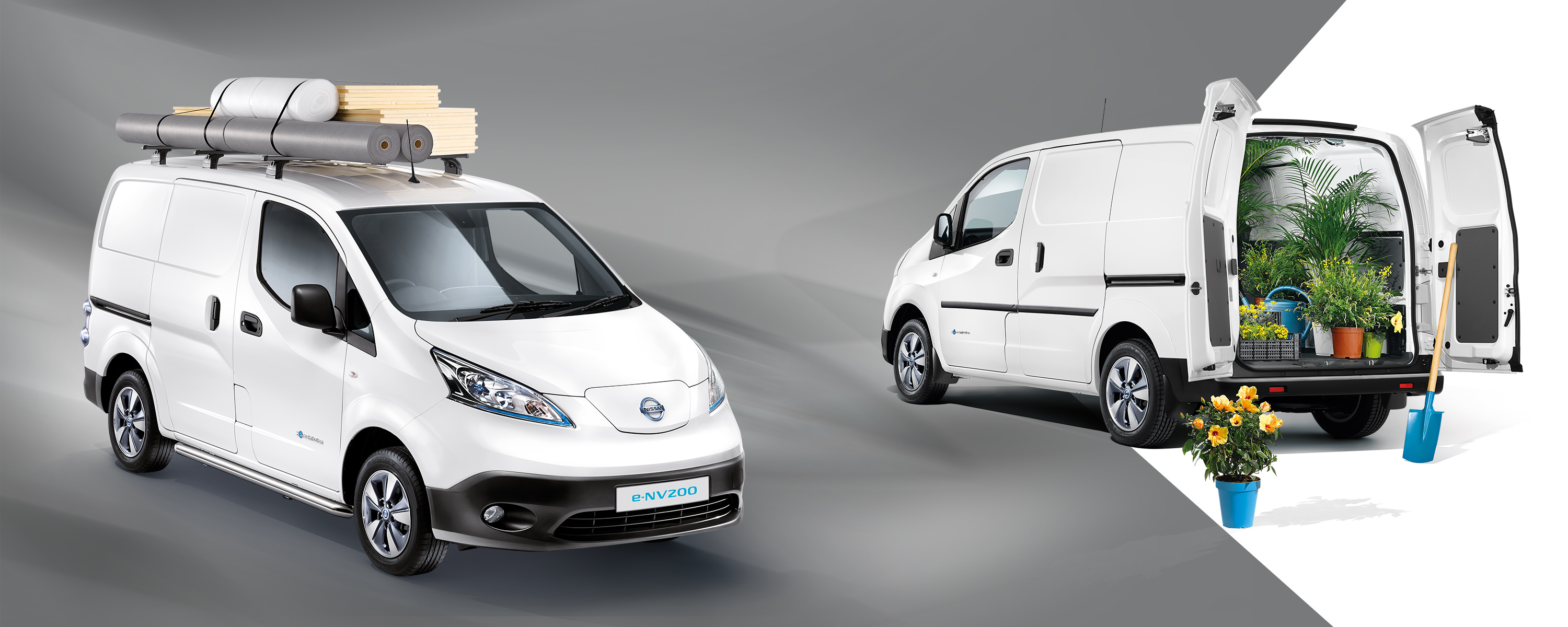 New Nissan e-NV200 VAN interior and exterior design preview image