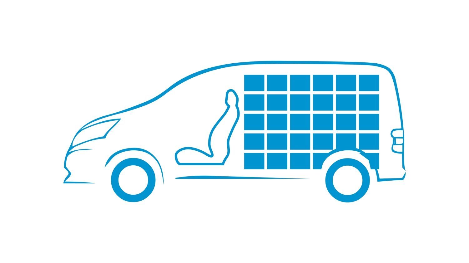 New Nissan e-NV200 VAN full capacity icon