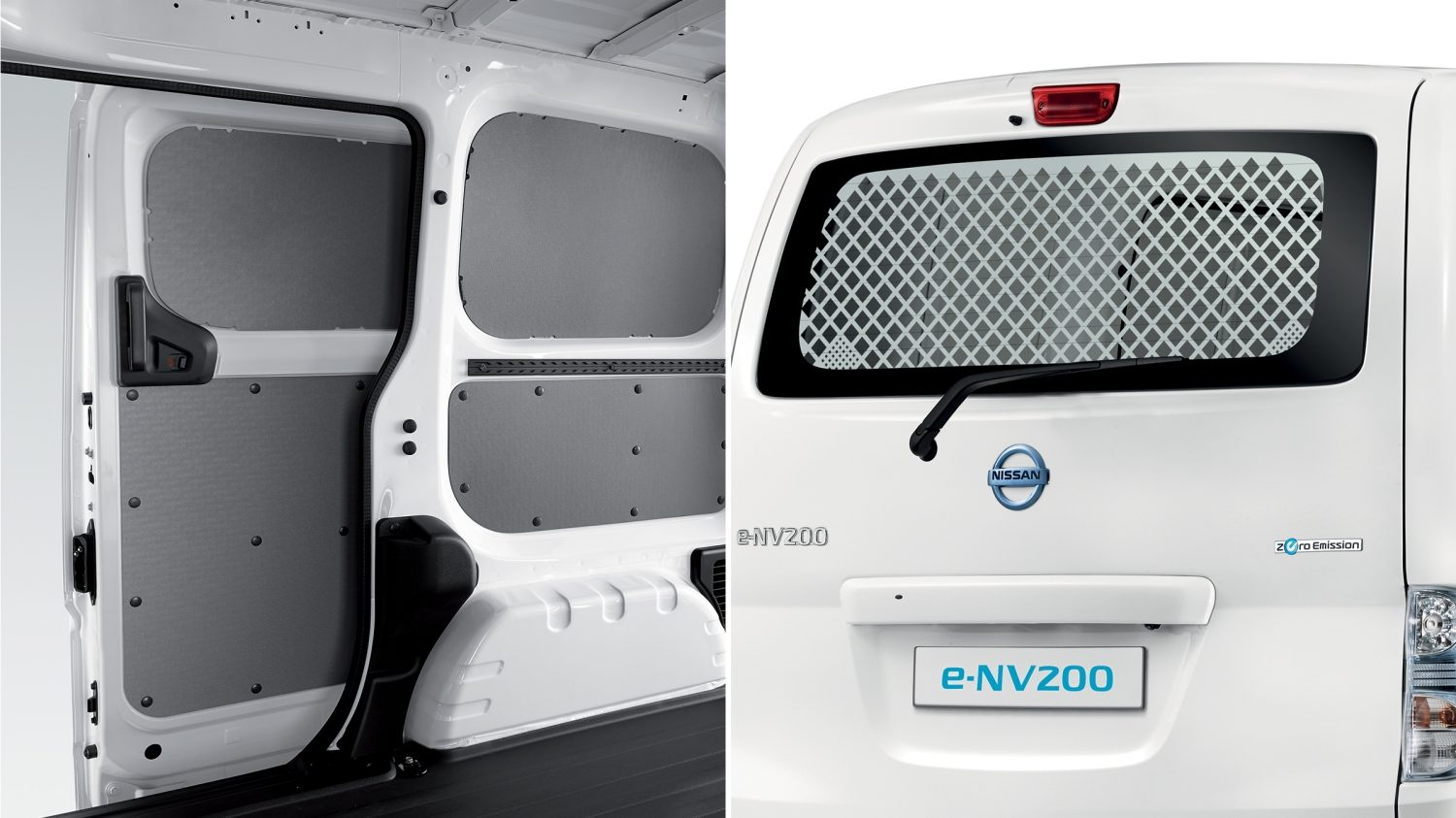 Most sold accessories e-NV200 VAN