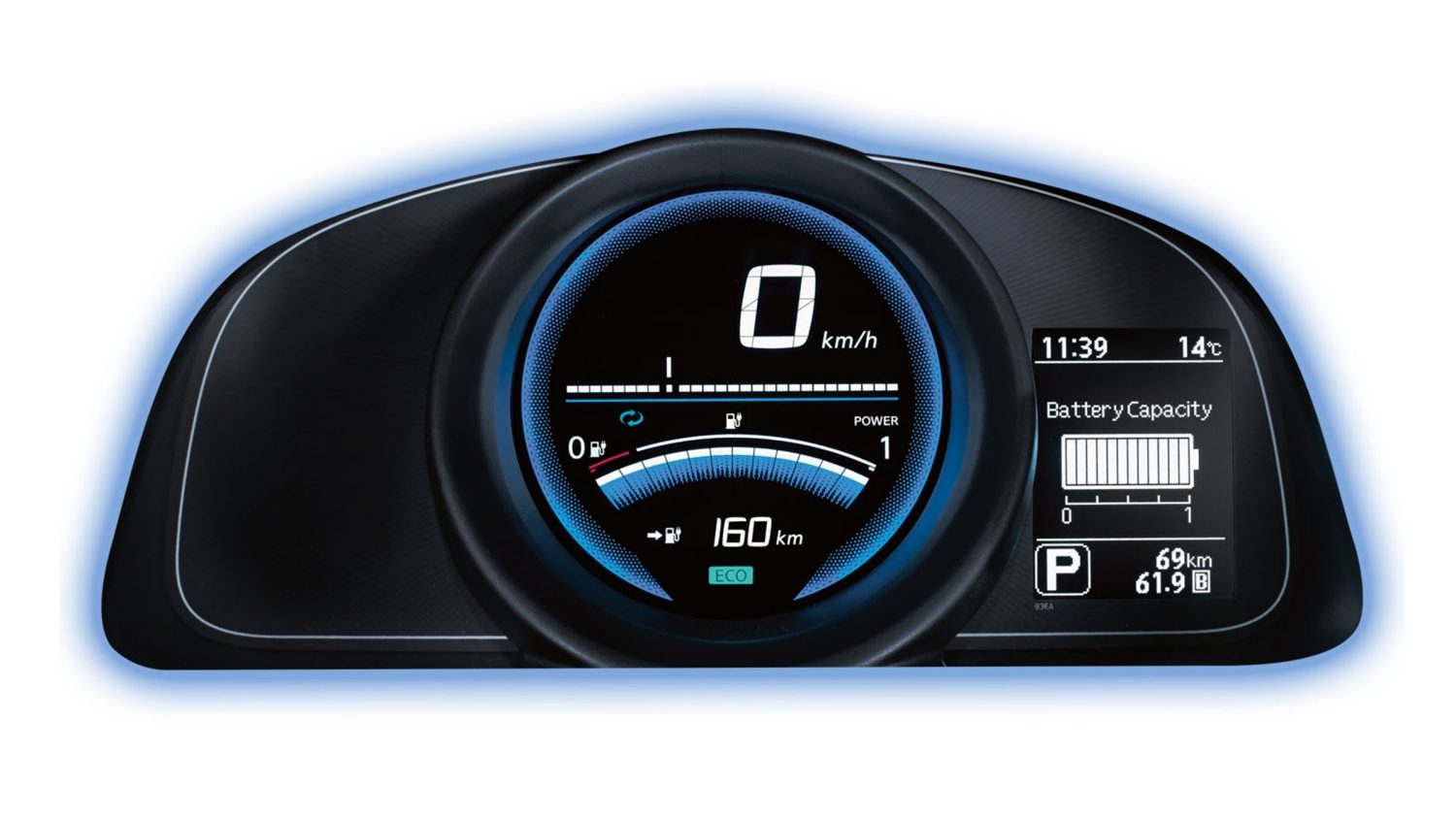NISSAN e-NV200 – Illustration NissanConnect EV App