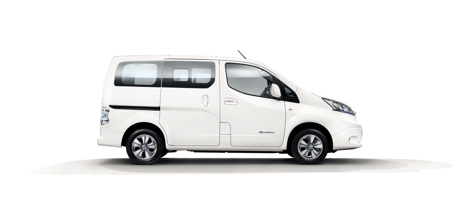 design nissan e nv200 combi electric vehicle people carrier nissan. Black Bedroom Furniture Sets. Home Design Ideas