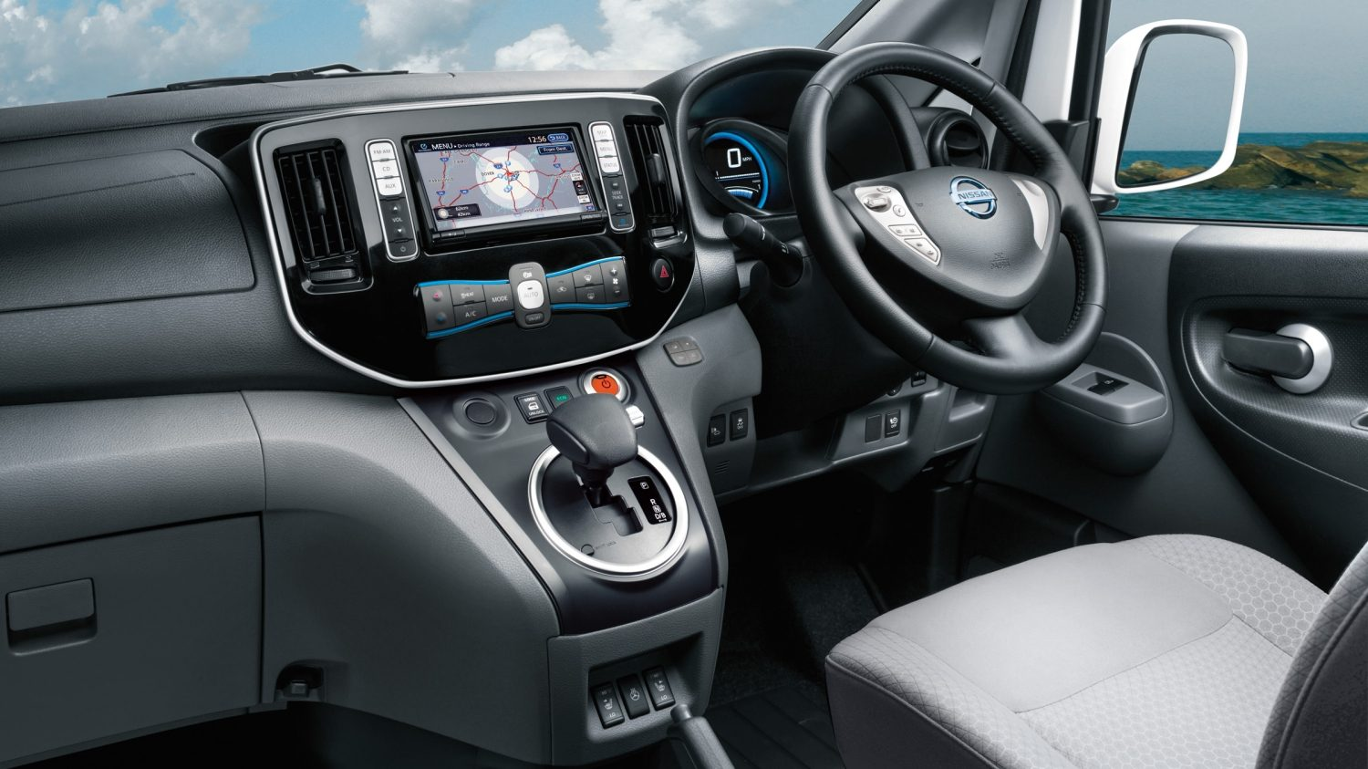 nissan nv200 combi interior images galleries with a bite. Black Bedroom Furniture Sets. Home Design Ideas