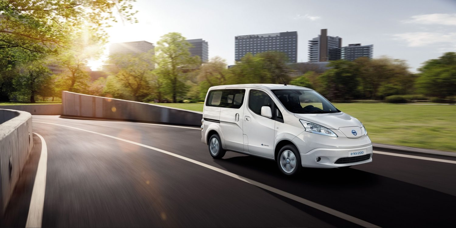 nissan e nv200 evalia ludospace lectrique 7 places nissan. Black Bedroom Furniture Sets. Home Design Ideas